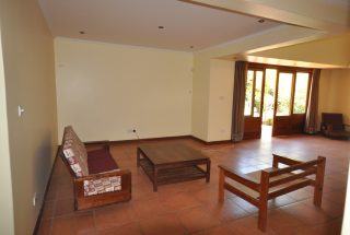 The Living Room of the Five Bedroom Furnished Home for Rent in Arusha by Tanganyika Estate Agents