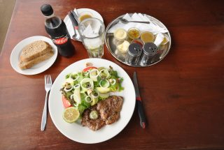 A Meal & Drink at the Profitable Restaurant for Sale in Arusha by Tanganyika Estate Agents