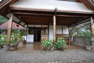 Front Entrance of the Two Bedroom House for Sale in Usa River, Arusha by Tanganyika Estate Agents