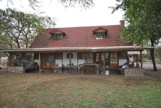 Front View of the Veranda of the Two Bedroom House for Sale in Usa River, Arusha by Tanganyika Estate Agents