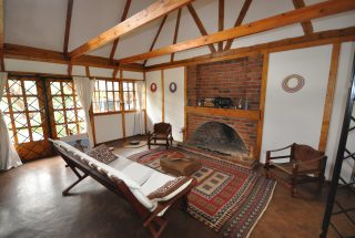 Living Room & Fireplace of the Two Bedroom House for Sale in Usa River, Arusha by Tanganyika Estate Agents