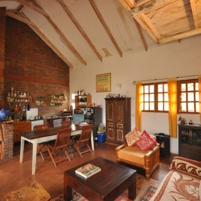 Living Room & Kitchen of the 7 Bedroom Home for Sale in Mateves, Arusha by Tanganyika Estate Agents