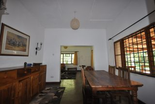 Dining Room of the 5 Bedroom Cottage for Sale in Usa River, Arusha by Tanganyika Estate Agents