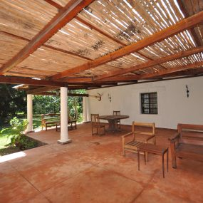 Veranda of the 5 Bedroom Cottage for Sale in Usa River, Arusha by Tanganyika Estate Agents
