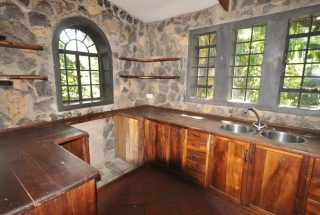 The Kitchen of the 5 Bedroom Home for Rent in Usa River by Tanganyika Estate Agents