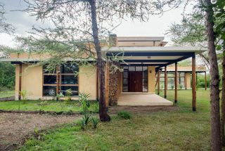 Side View of the Three Bedroom House on Kilimanjaro Golf and Wildlife Estate by Tanganyika Estate Agents