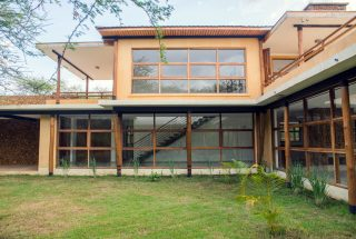 View of the Three Bedroom House on Kilimanjaro Golf and Wildlife Estate by Tanganyika Estate Agents