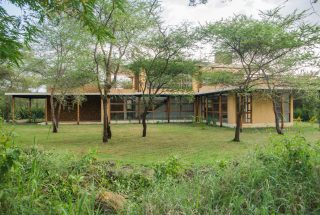 Garden of the Three Bedroom House on Kilimanjaro Golf and Wildlife Estate by Tanganyika Estate Agents