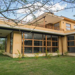 The Front View of the Three Bedroom House on Kilimanjaro Golf and Wildlife Estate by Tanganyika Estate Agents