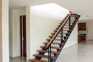 Staircase of the Three Bedroom House on Kilimanjaro Golf and Wildlife Estate by Tanganyika Estate Agents