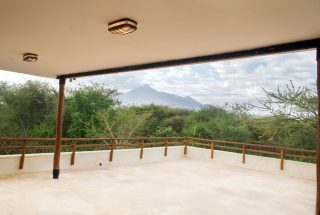 View from the Balcony of the Three Bedroom House on Kilimanjaro Golf and Wildlife Estate by Tanganyika Estate Agents