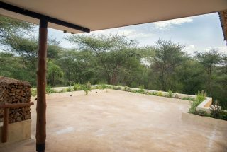 View from the Three Bedroom House on Kilimanjaro Golf and Wildlife Estate by Tanganyika Estate Agents