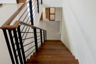 Staircase view from Top of the Three Bedroom House on Kilimanjaro Golf and Wildlife Estate by Tanganyika Estate Agents