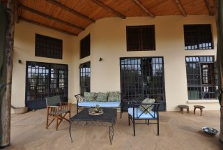 Veranda of the 2 Bedroom Home for Sale in Olasititi, Arusha by Tanganyika Estate Agents