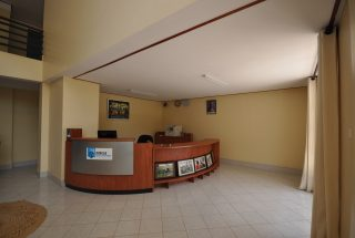 Reception Desk at the Commercial Property for Rent in Usa River, Arusha by Tanganyika Estate Agents