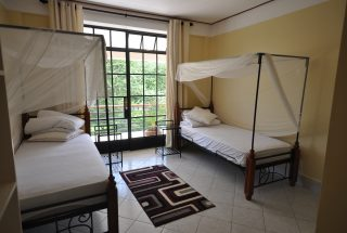 Double Bed Room of the Commercial Property for Rent in Usa River, Arusha by Tanganyika Estate Agents