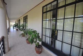 Doors to the Offices of the Commercial Property for Rent in Usa River, Arusha by Tanganyika Estate Agents
