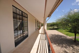 Veranda of the Commercial Property for Rent in Usa River, Arusha by Tanganyika Estate Agents