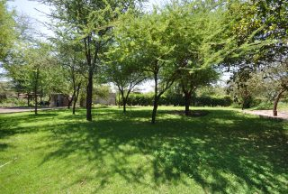 Lush & Green Lawn of the Commercial Property for Rent in Usa River, Arusha by Tanganyika Estate Agents
