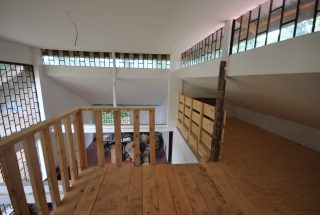 View from top of staircase of the Standalone House Rental in Ilboru by Tanganyika Estate Agents