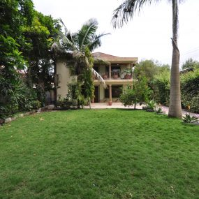 Front View of the Furnished House in Ngaramtoni by Tanganyika Estate Agents
