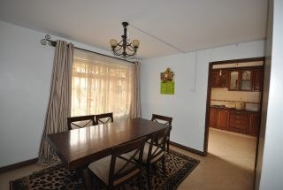 Dining Room of the Furnished House in Ngaramtoni by Tanganyika Estate Agents