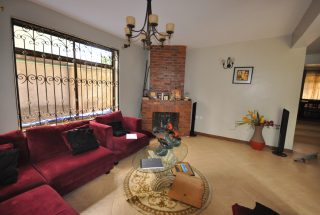 The Fireplace in the Living Room of the Furnished House in Ngaramtoni by Tanganyika Estate Agents