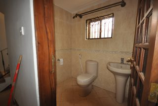 One of the Bathrooms of the Furnished House in Ngaramtoni by Tanganyika Estate Agents