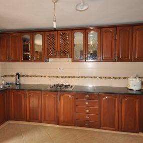 The Kitchen of the Furnished House in Ngaramtoni by Tanganyika Estate Agents