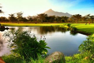 Golf Course with mount kilimanjaro in the Three Bedroom House for Sale in Kili Golf by Tanganyika Estate Agents