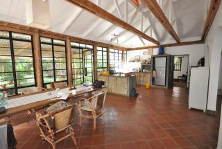 Dining Room & Kitchen of the 6 Bedroom House for Sale in Olasiti, Arusha by Tanganyika Estate Agents
