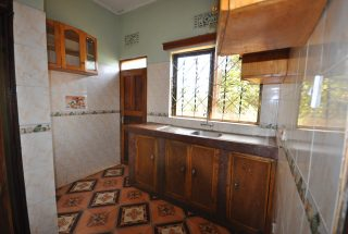 Kitchen of the 3 Bedroom Home for Rent in Njiro Block F in Arusha by Tanganyika Estate Agents