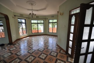 Living Room of the 3 Bedroom Home for Rent in Njiro Block F in Arusha by Tanganyika Estate Agents