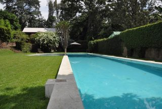 Swimming Pool of the 7 Bedroom Furnished House in Ilboru, Arusha by Tanganyika Estate Agents