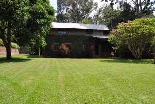 The Lawn of the 7 Bedroom Furnished House in Ilboru, Arusha by Tanganyika Estate Agents