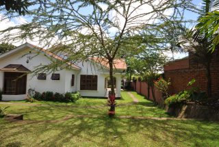 Side of of the Four Bedroom House for Rent in Arusha by Tanganyika Estate Agents