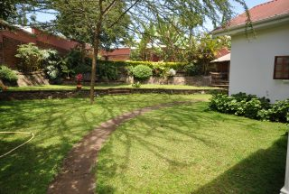 Garden of the Four Bedroom House for Rent in Arusha by Tanganyika Estate Agents