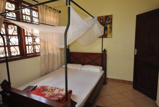 One of the Bedroom of the Four Bedroom House for Rent in Arusha by Tanganyika Estate Agents