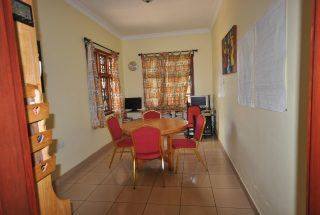 Dining Room of the Four Bedroom House for Rent in Arusha by Tanganyika Estate Agents