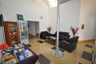 The Lounge of the 17 Room Lodge for Sale in Usa River, Arusha by Tanganyika Estate Agents