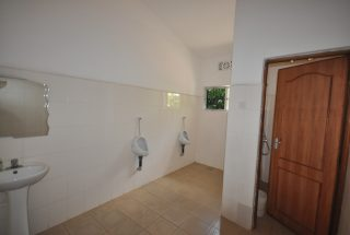 The Gents in the 17 Room Lodge for Sale in Usa River, Arusha by Tanganyika Estate Agents