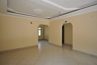 Living Room view of Three Bedroom Home for Rent by Tanganyika Estate Agents