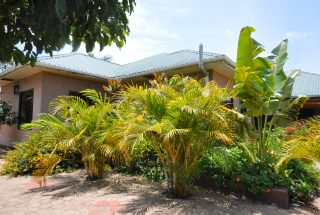 Garden of the Five Bedroom House for Rent in Maji ya Chai by Tanganyika Estate Agents