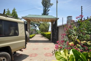 The Gate of Five Bedroom House for Rent in Maji ya Chai by Tanganyika Estate Agents