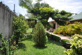 Lawn Garden of the Five Bedroom House for Rent in Maji ya Chai by Tanganyika Estate Agents
