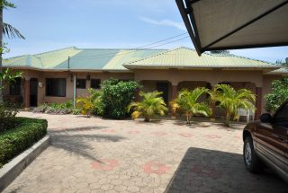 Front View of the Five Bedroom House for Rent in Maji ya Chai by Tanganyika Estate Agents