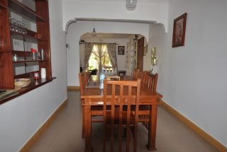 Dining room of the Five Bedroom House for Rent in Maji ya Chai by Tanganyika Estate Agents