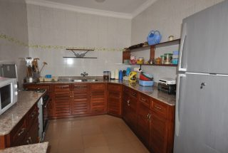 Furnished Kitchen of the Five Bedroom House for Rent in Maji ya Chai by Tanganyika Estate Agents