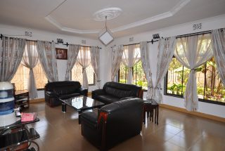 Furnished Living Room of the Five Bedroom House for Rent in Maji ya Chai by Tanganyika Estate Agents