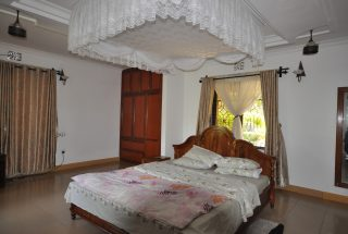 Furnished Bedroom of the Five Bedroom House for Rent in Maji ya Chai by Tanganyika Estate Agents